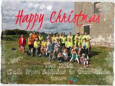 Happy #Christmas from the 2014 Walk from #Allihies to #Bunmahon team