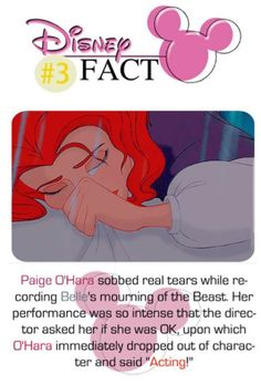 I don't know why Belle's hair is red, but this is cool!