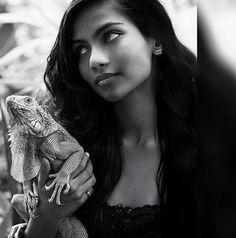 La modelo india, que recién empezaba su carrera en el mundo de las pasarelas y destacaba entre sus c... - Instagram / raudha_athif