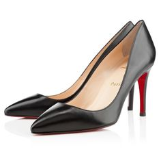 Christian Louboutin Kid Piaf 85 -- everyone needs a classic black pointed pump in their collection