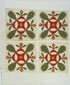 Leaf and Reelblocks 1860-1870