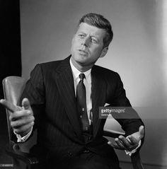 News Photo : Presidential Candidate John F. Kennedy