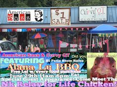 June 29th Alana Lu BBQ in the parking lot and NK Relay for Life Book Sale and Rooster personality! It's gonna be fun! Are you going?