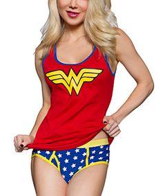 Wonder Woman Ribbed