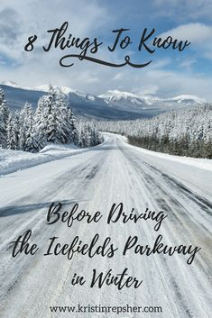Thinking about driving the Icefields Parkway between Lake Louise and Jasper in winter? It's an unforgettable, stunning drive, but you'll need to know a few key things before you set off.