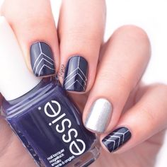 stamping nails inspired by @pshiiit_polish @essiepolish @essie_nl after school boy blazer & apres-chic @moyou_london holy shapes 03 by beautyaddictedd