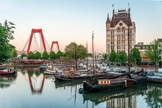 The 25 cheapest holiday destinations in Europe Beautiful Places In The World, Most Beautiful Cities, European Breaks, Rotterdam Netherlands, Cheap Holiday, Voyage Europe, Amsterdam City, Paradise On Earth, Picture Postcards