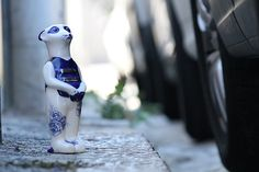 Carguard Meerkat #Ceramic #CarguardMeerkat #Delft #China #Design