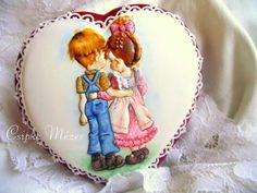 Csipke Mézes:  Valentine's day couple