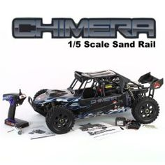 Redcat Racing Rampage Chimera 1/5 Scale Sand Rail Gas RC Buggy