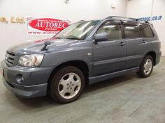 Japanese vehicles to the world: 2005 Toyota Kluger S 4WD for Tanzania to Dar es sa...