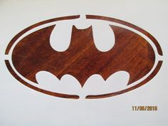 Batman-Emblem-Stencil-10-Mil-Mylar-Reusable-for-Airbrush-Cake-Decorating-ect
