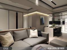 乾淨的背景與用色 透過燈光來提點空間質感 Desigh Idea Home