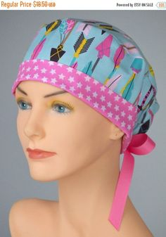 40% OFF CLEARANCE SALE Surgical Scrub Hat or by thehatcottage