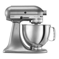 KitchenAid Tilt-Back Stand Mixer » Sleek