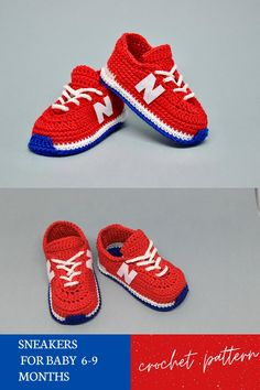 Crochet Baby Sandals, Crochet Baby Boots, Booties Crochet, Crochet Baby Clothes, Crochet Slippers, Love Crochet, Baby Booties Free Pattern, Crochet Shoes Pattern, Baby Shoes Pattern