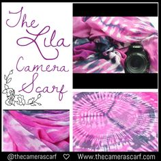 """✨Peace ❤️ &  with """"The Lila"""" Camera Scarf  Watch our YouTube video on styling & using our Camera Scarfs at: https://youtu.be/KnWdENfHIks  ❤️❤️www.thecamerascarf.com"""