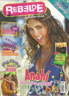 revista rebelde rbd anahi