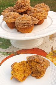 The Alchemist: Pumpkin Muffins with Streusel Topping