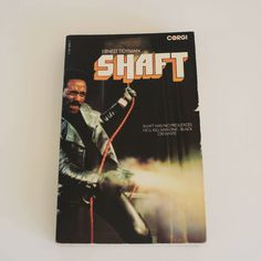Shaft by Ernest Tidyman 1970s vintage paperback book Corgi film tie in by NavigateTimeVintage on Etsy
