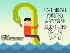 Una buena persona siempre ve algo bueno en los demás. #secretosdefelicidadcotidiana #diariodeunabrujamoderna