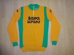 vintage SAVA KRAN cycling jersey size 2 LONG SLEEVE L/S | eBay