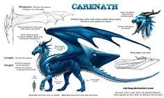 Carenath ref sheet by rah-bop on DeviantArt