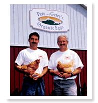 Pete & Gerry at our farm #organic @nelliescagefree @heirloomeggs @Certified Humane #foodie #sustainableag #familyfarm