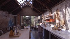 Movie explores Jonathan Tuckey's home in a 19th-century workshop 14 year...