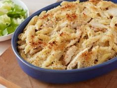 Grilled Chicken Caesar Mac Recipe courtesy Rachael Ray Show: Rachael Ray's Week in a Day Episode: It's a Breeze