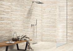 Salle de bains : 15 façons d'adopter le carrelage 3D Divider, Sweet Home, New Homes, Shower, Furniture, Home Decor, Images, Collection, Bathroom