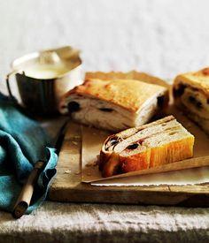 Cherry lardy cake - Gourmet Traveller