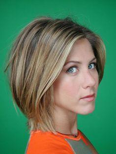 rachel green short hair