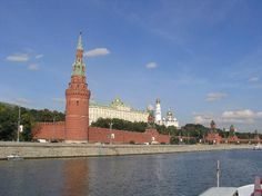 Moscow, Russia: El Kremlin Moscu (Rusia) #travel #vacation