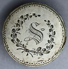 Love Token Engraved S On 1854 Liberty Seated Quarter 25c Silver.