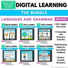 digital phonics games Phonics Activities, Kindergarten Activities, Classroom Activities, Preschool Math, Educational Activities, Math Games, Math Words, Sight Words, Math Word Problems