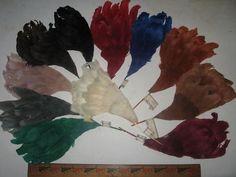 Vintage Feather Millinery Wing Hat Trim 5504 Austrian