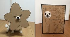 Japanese woman makes cheap but clever costumes for her dog