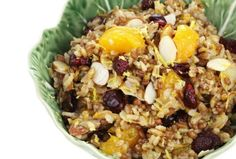 Brown Rice Pilaf with Dried Fruit - Joy of Kosher