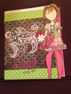Prima Doll card.