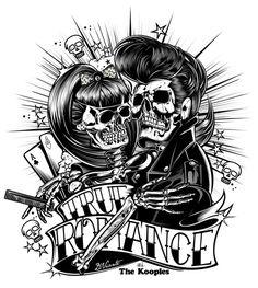 Hosber Art - Blog de Arte & Diseño.: La pasión inconmensurable de Rock And Roll en las ilustraciones de David Vicente