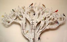9 bulletin board name tree