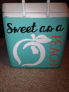 Georgia girl sorority cooler