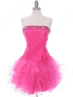 Short Pink Prom Dresses in Casuals and Formals