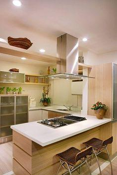 Ideas para islas centrales en tu cocina (27) | Curso de organizacion de hogar aprenda a ser organizado en poco tiempo