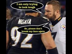 NFL'S #1 RIVALRY STEELERS VS RAVENS- 2014