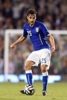 Marco Parolo of Italy in action during the International Friendly...