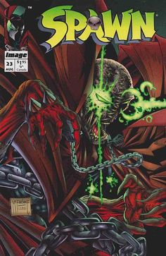 Spawn is a fictional character, a comic book superhero who appears in a monthly comic book of the same name published by Image Comics. Created by writer/artist Todd McFarlane, Spawn first appeared in Malibu Sun #13 (May 1992).