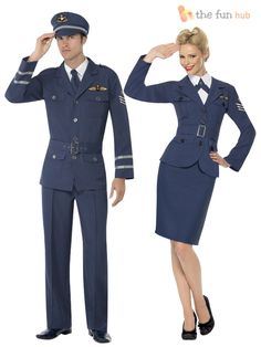 with Jacket COST-W NEW UK IMPORT M Skirt Blue WW2 Air Force Female Captain