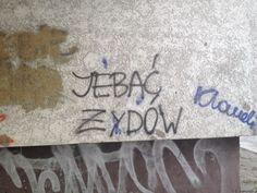 Znów Żydzi - graffiti Wrocław #Żydzi #graffiti #graffitiWrocław